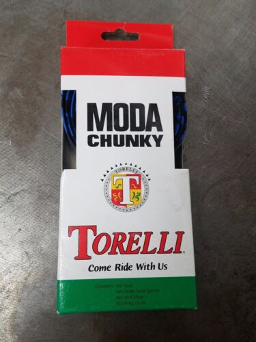 Blue//Black Torelli Chunky Handle Bar Tape
