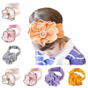 Baby-Infant-Kids-Girls-Hair-Head-Band-Flowers-Elastic-Headband-Headwear-Hot-Sale