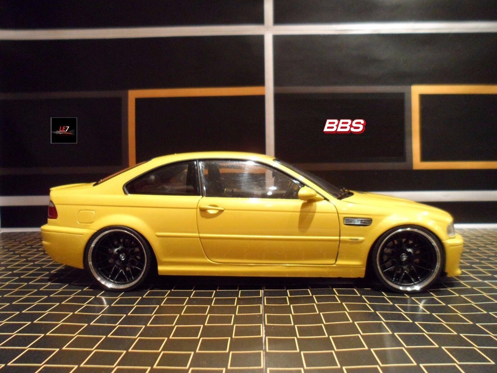 KYOSHO BMW M3 BBS E46 1 18