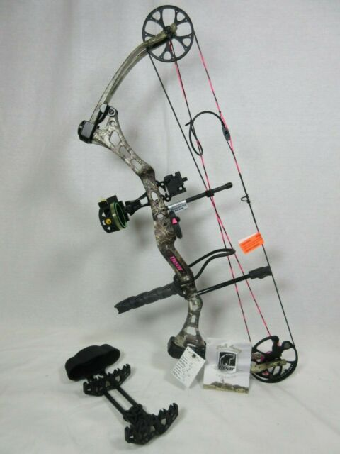"""Bear Finesse Right Hand 40 - 50 # Compound Bow Package 23-28"""" Max-1 Camo"""