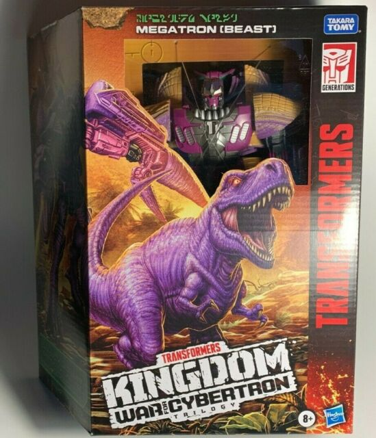 Transformers Gen Kingdom WFC Beast Wars MEGATRON Voyager 6in Figure IN STOCK