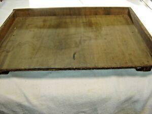 Antique Salvage Sliding Wooden Shelf For Hoosier Sellers Kitchen Cabinet 1180 Ebay