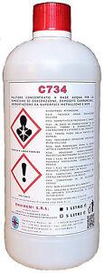 C734-1-Lt-DECARBONIZZANTE-DISINCROSTANTE-DECAPANTE-X-ALLUMINIO-amp-LEGHE-GIALLE