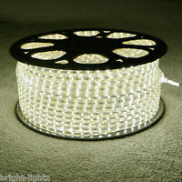 Warm White LED Strip 220V 240V IP68 Waterproof 3528 SMD Commercial Rope Lights