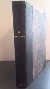 La Mesa Redonda Cuarto Cuaderno Ediciones París 1945 Tablas ABE