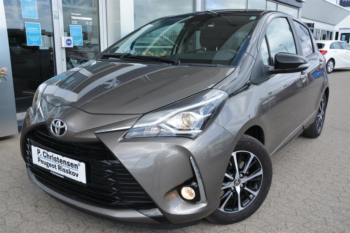 Toyota Yaris 1,0 VVT-i T3 Premium 5d - 144.900 kr.