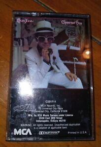Elton John Greatest Hits Vol. 1 & 2 Cassette Rock Pop