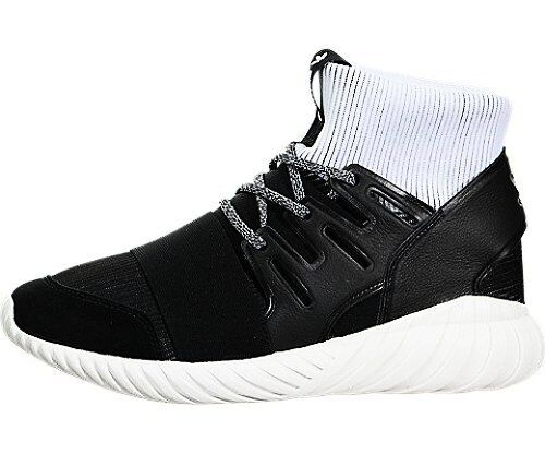 uk availability c6432 c24b8 Mens adidas Tubular Doom Core Black Footwear White BA7555 US 11