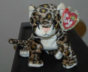 Image is loading Ty-Beanie-Baby-SNEAKY-the-Leopard-5-5- aea3373dcdc8