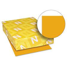 Neenah Paper Astrobrights Colored Card Stock 65 lb. 8-1/2 x 11 Cosmic Orange 250