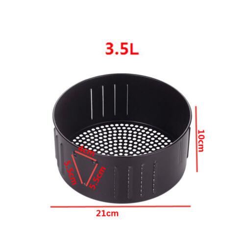 Air Fryer Basket Oil Pan Accessories Cast iron 2.6 3.5L Non-stick Baking