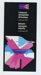 (51) Brochure LE BOURGET 1971 Britain's Aerospace Industry I70dW6hZ-08051110-107283615