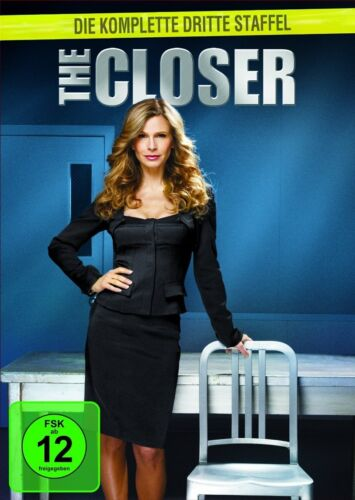 1 von 1 - The Closer Die komplette 3.dritte Staffel (4 DVDs) NEU