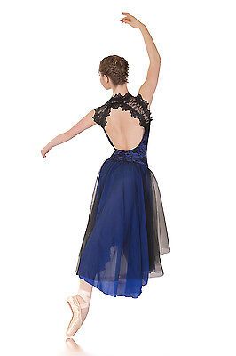 Regal Lyrical Dress Royal Blue & Black. Dance Costumes Lots Groups