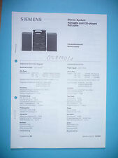 Service manual manual for Siemens RS 162/RS 156,ORIGINAL
