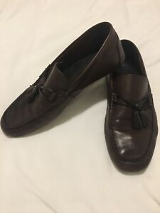 aldo mens shoes size 105 color brown style casual