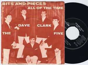"THE DAVE CLARK FIVE Bits And Pieces Danish 7"" 45PS 1964."