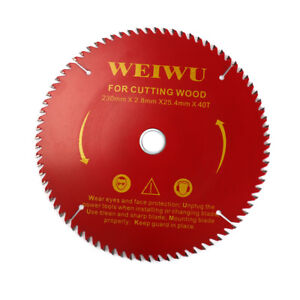 9-034-230mm-Carbide-Tip-Circular-Saw-Blade-Disc-for-Cutting-Wood-40-Teeth-1-034-Bore