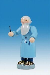 Petrus als Dirigent Höhe ca 6 cm NEU  Erzgebirge Holz Weihnachtsfigur