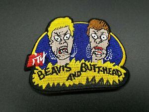 Patch-Mtv-Beavis-ButtHead-Retro-Cartoons-Parche-Tv-Classic-Big-Bag-Planchar-iron