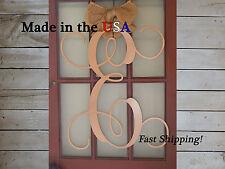 """24"""" Vine Letter-Door Monogram-Artsy Initial Letter-Foyer Decor-Metal Art-DS1022"""