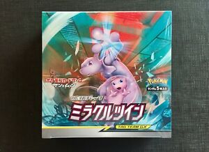 Pokemon-Booster-Box-Japanese-Sun-amp-Moon-11-Miracle-Twins-Sealed