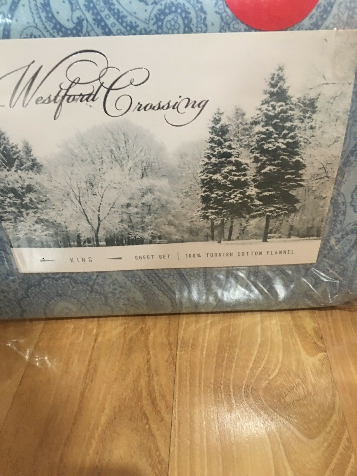 New Westford  Crossing  King Cotton Flannel Sheet Set