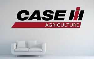 Case ih agriculture logo wall decal sticker decor vinyl tractor image is loading case ih agriculture logo wall decal sticker decor sciox Choice Image