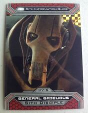 2015 Star Wars Chrome Perspectives Jedi vs Sith Refractor #37S General Grievous