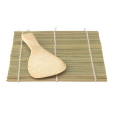 Helens Asian Kitchen Hand Roll Sushi Mat With Paddle