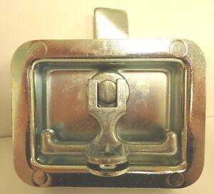 Sierra-Pacific-481P-01-Single-Point-Pad-Locking-Handle-w-Studs-Zinc-Plated