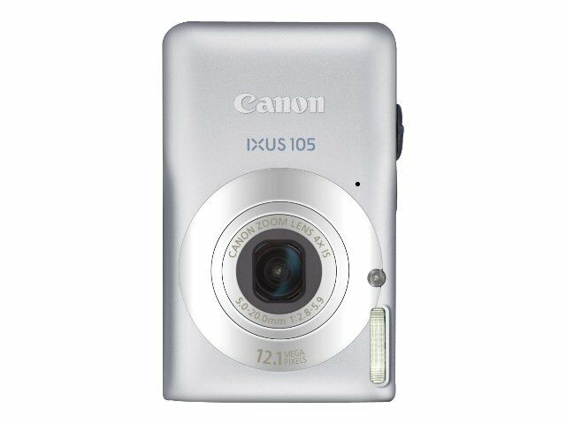 Canon Powershot Digital Elph Sd1300 Is 12 1 Mp Digital Camera Silver For Sale Online Ebay