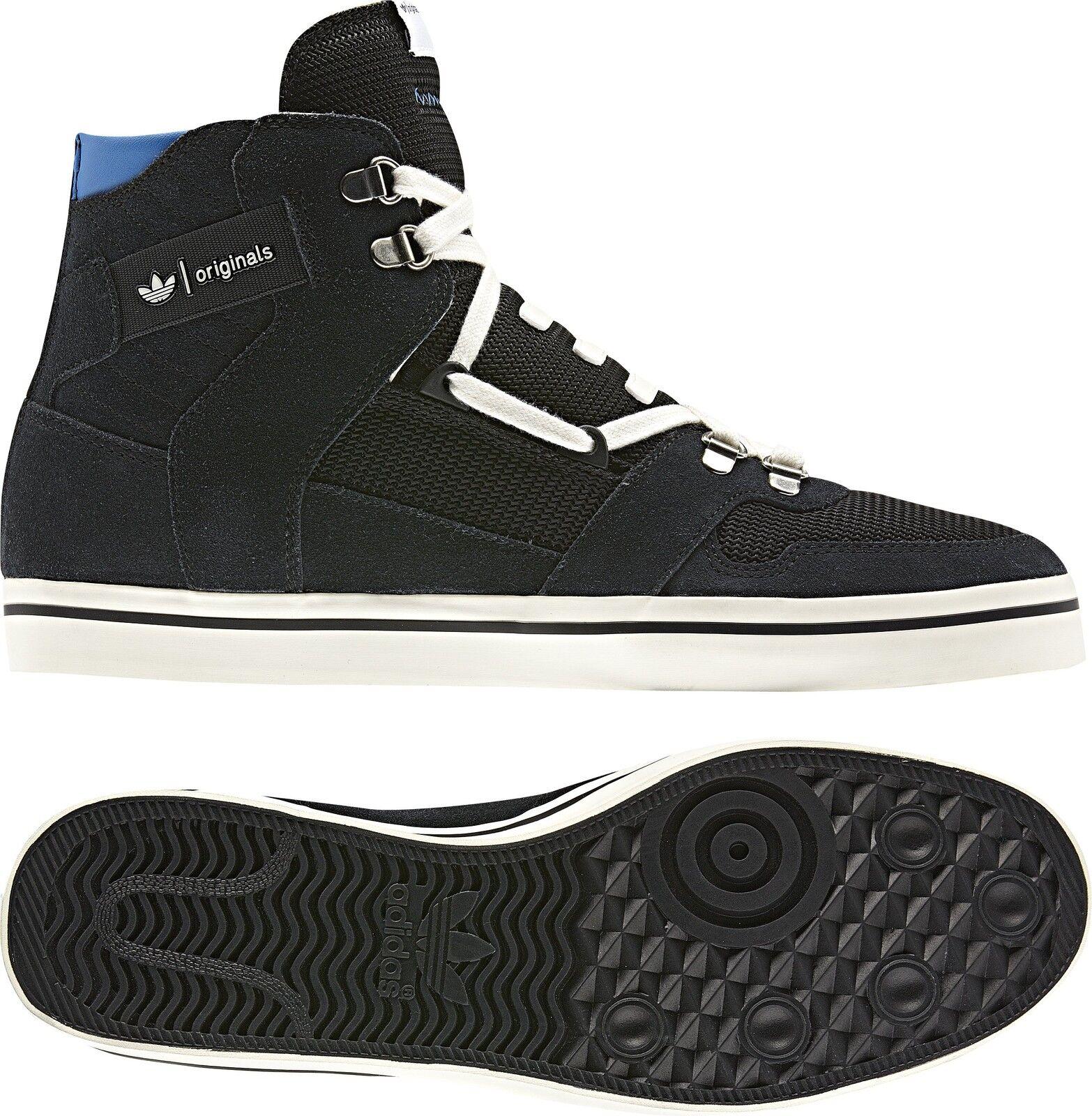 Poco común ~ Hi Azul Adidas Originals Hardland Hi ~ Zip Superstar Zapato Chile tenis ~ Hombre 5e9027