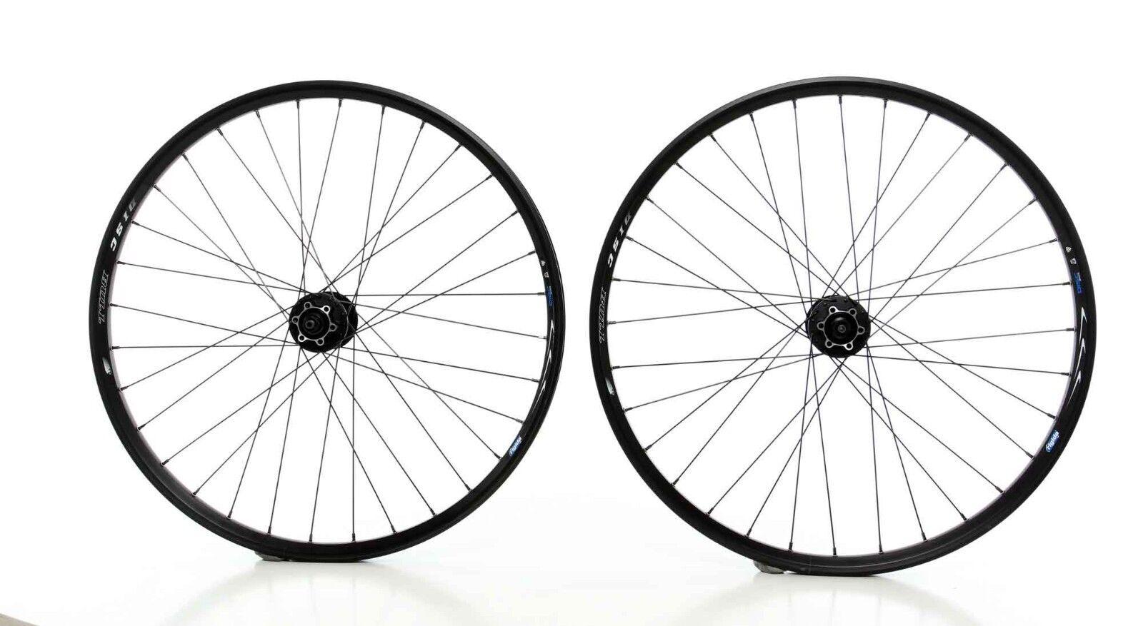 26  Laufradsatz Ryde Big Bull Disc black Shimano Deore 525 black A190019