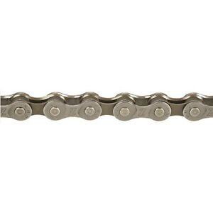 Inch 98 Links KMC #410H-NP Bicycle Chain Silver 1//2 x 1//8