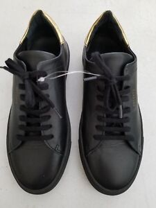 Details about Axel Arigato Women s Clean 90 Sneakers Black Leather Size 6.5  - Free Shipping - 98d432385