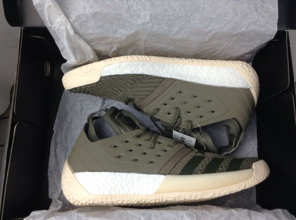 Adidas James Harden Vol 2 Cargo Basketball shoes AQ0027 Olive White SIZE 11