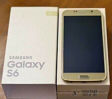 New in Box Samsung Galaxy S6 Gold G920a Factory GSM Unlocked for ATT T-Mobile