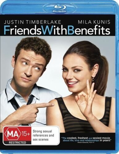 1 of 1 - Friends With Benefits (Blu-ray, 2011)ex rental