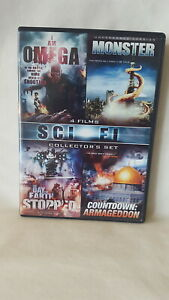 The-Day-The-Earth-Stopped-Monster-Countdown-Armageddon-I-Am-Omega-DVD-OOP
