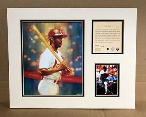 St. Louis Cardinals Ozzie Smith 1995 Baseball 11x14 MATTED Kelly Russell Print