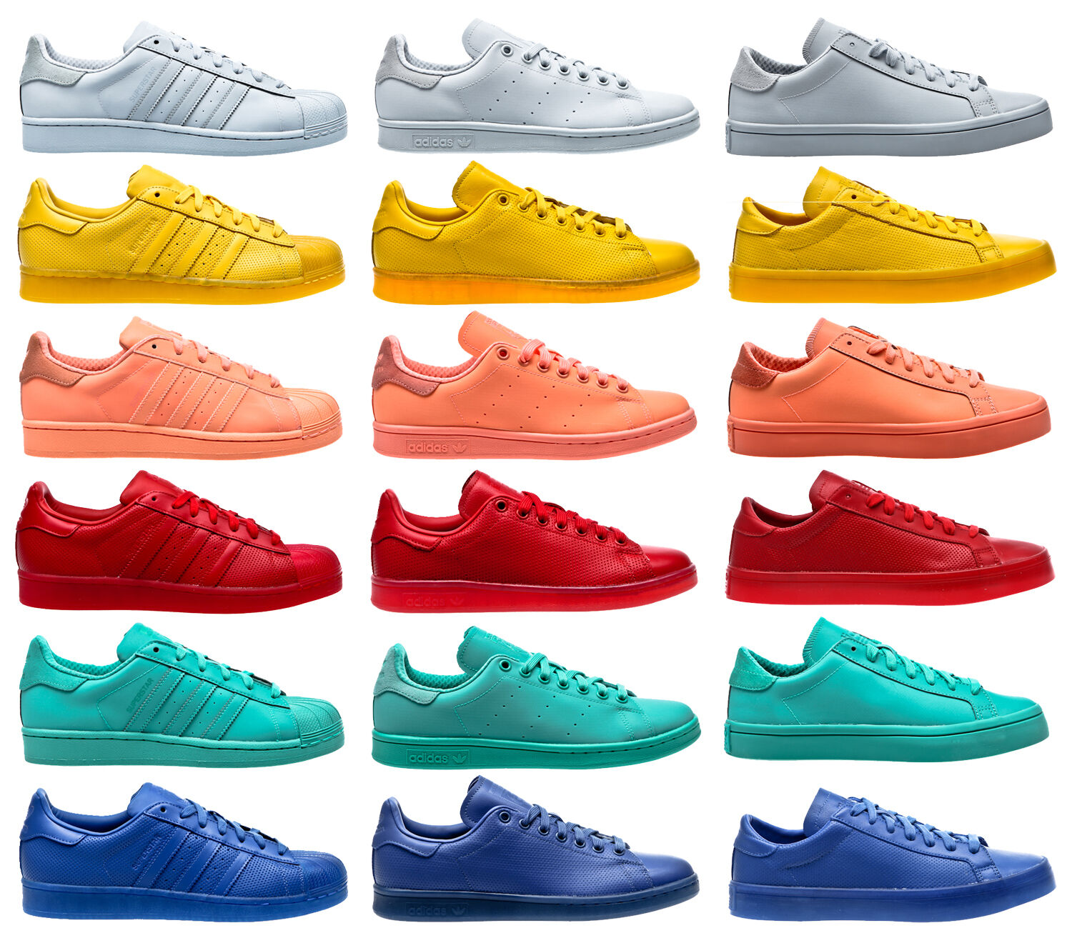 Adidas  AdioColoreee Superstar Stan Smith Court Vantage Men Trainers scarpe  alta qualità generale