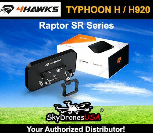 4Hawks Raptor  SR Range Extender Antenna   Yuneec Typhoon H - Tornado H920  nuovo stile