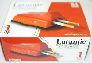 1-Stueck-Laramie-Double-Shooter-Stopfer-fuer-84mm-Huesen-Zigarettenstopfer-Maschine