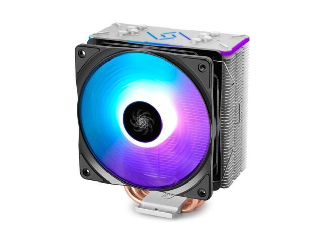 Aigo K4 Rgb Silent Cpu Cooler Radiator 120mm Led Pwm Fan Intel Amd Ir Control For Sale Online Ebay