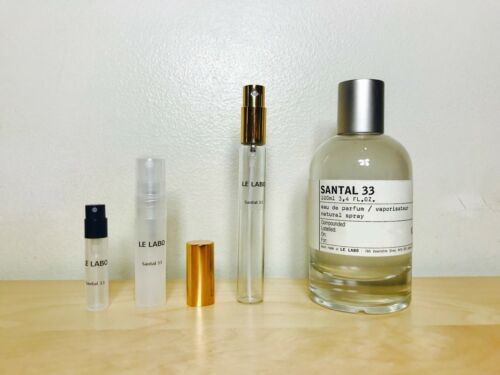 SANTAL 33 by Le Labo 2ml, 5ml, 10ml, 30ml 100% Genuine