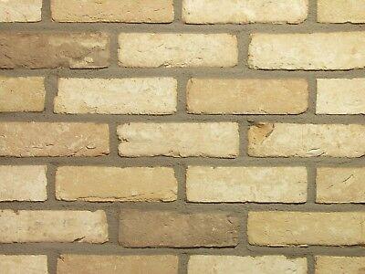 Baustoffe & Holz Klinker Retro-handform-verblender Wdf Bh391 Hellbeige Gerumpelt Klinker-ziegel Fassade Die Nieren NäHren Und Rheuma Lindern