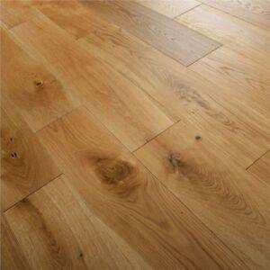 Engineered Oak Flooring Oiled Wood Floor Wide Real Wooden 15mm X