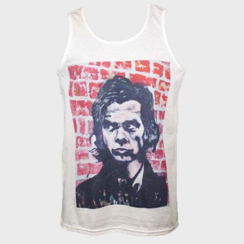 2XL punk blues rock t-shirt vest tank top NICK CAVE waits harvey cohen S