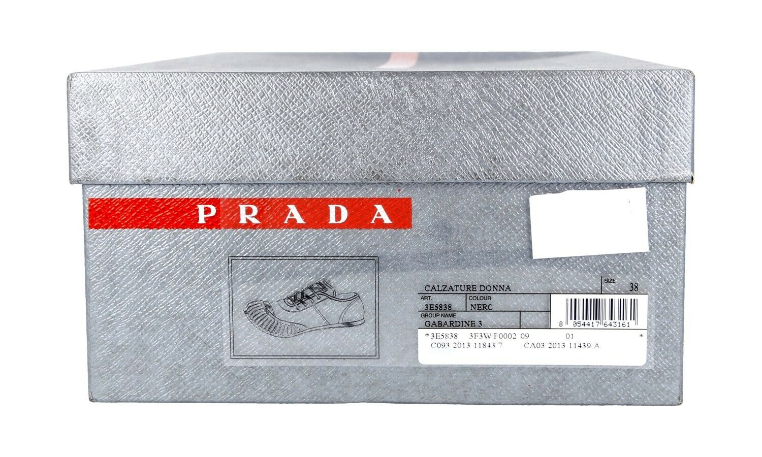 shoes PRADA LUXUEUX LUXUEUX LUXUEUX 3E5838 black NOUVEAUX 40,5 41 UK 7.5 cb14f9